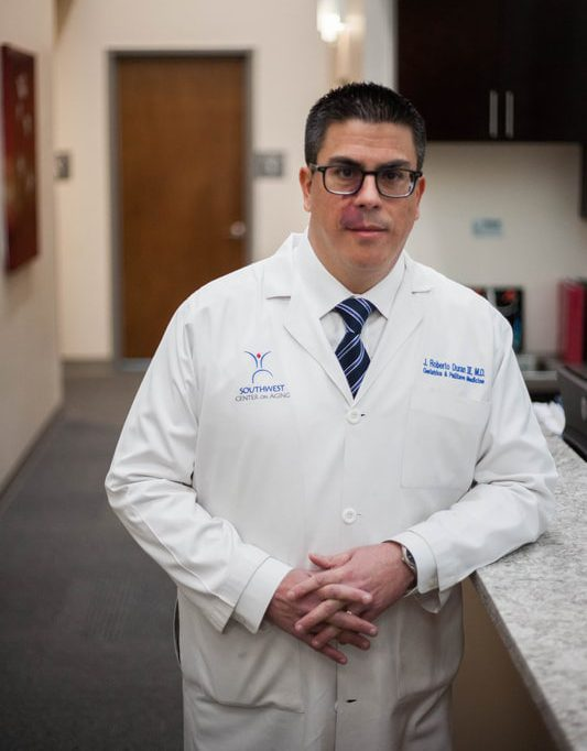Dr. Duran provides remote patient monitoring